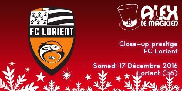 FC Lorient Close-up magicien prestige match