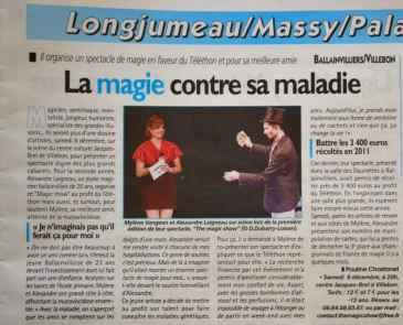 Le Républicain - The Magic Show - AFM Telethon