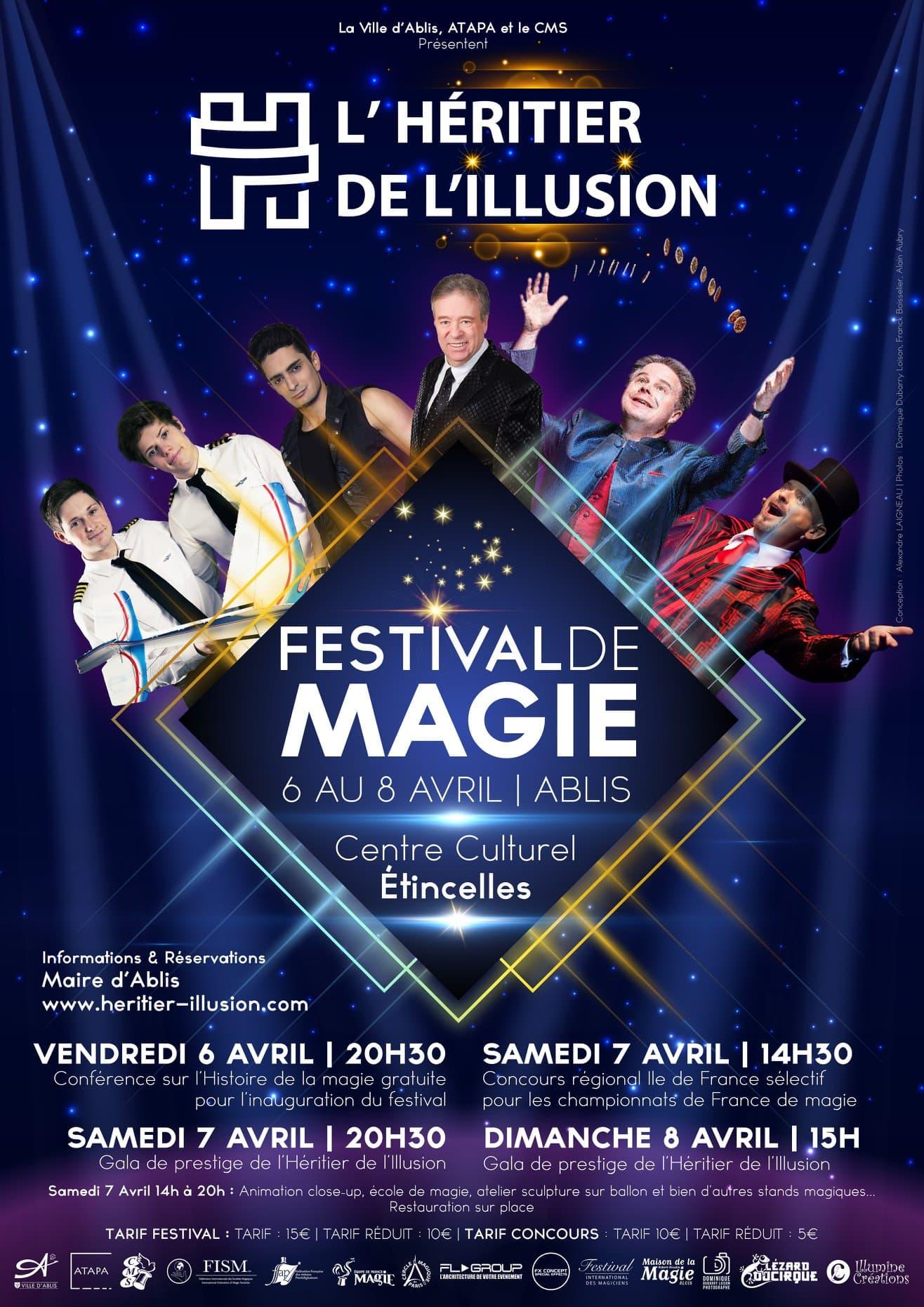 Festival de magie et concours régional Paris-Île de France