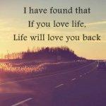 E viața voastră