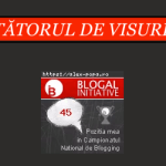 Mă întorc pe Blogal Initiative