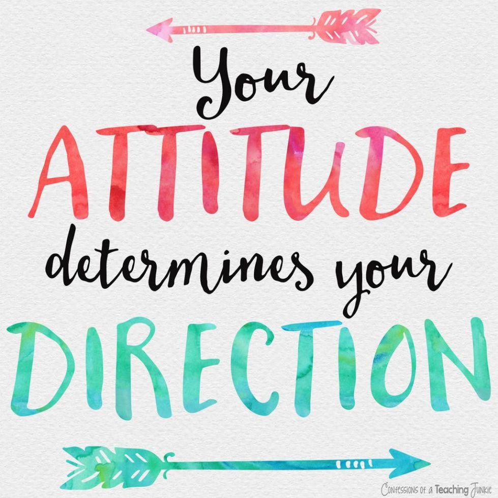Atitudinea ta Îți determină Direcția