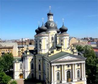 Wladimir-Kathedrale in St. Petersburg.