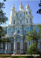 Smolny Kloster in St. Petersburg