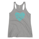 Gun Love Women's Tank Grey Triblend