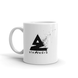 Splat Mug – Black (R) 11oz