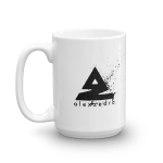 Splat Mug – Black (R) 15oz
