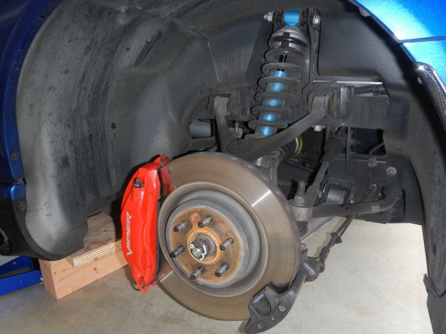 Dodge Viper Brakes And Suspension