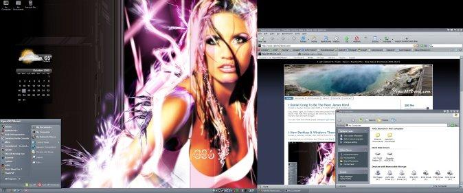 My Desktop as of 2005.10.15