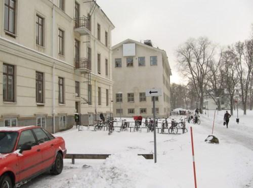 Biciclete în Upsala