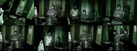 alex rocks the drums