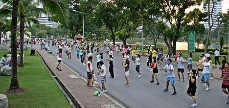 outdoor fun in bangkok