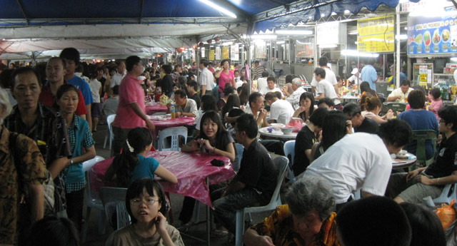 ipoh night food market