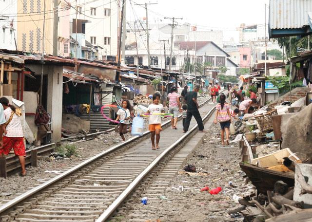 Slums of Medan