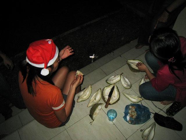 chrismas durian