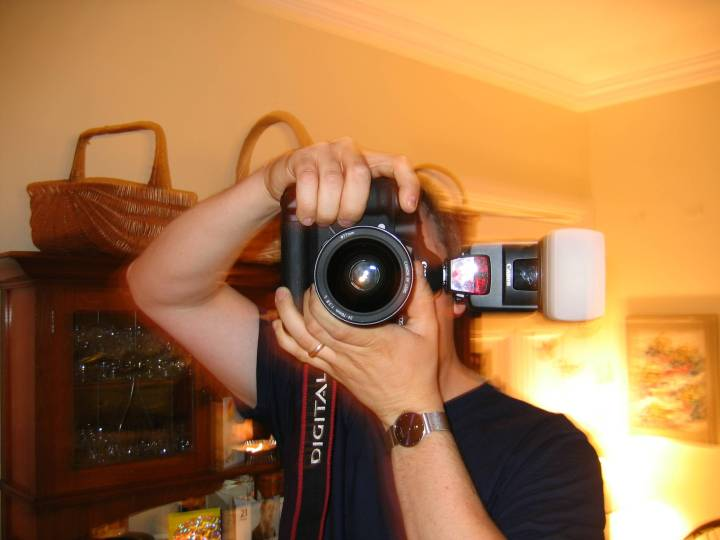 My brother's camera is bigger
