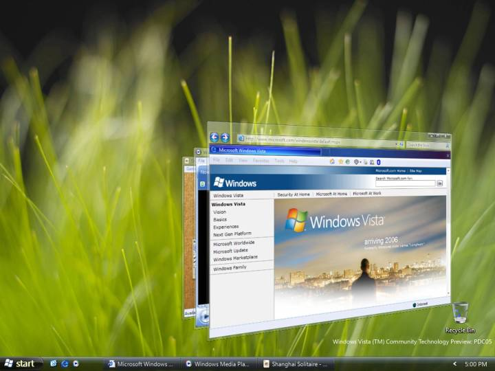 Windows Vista View