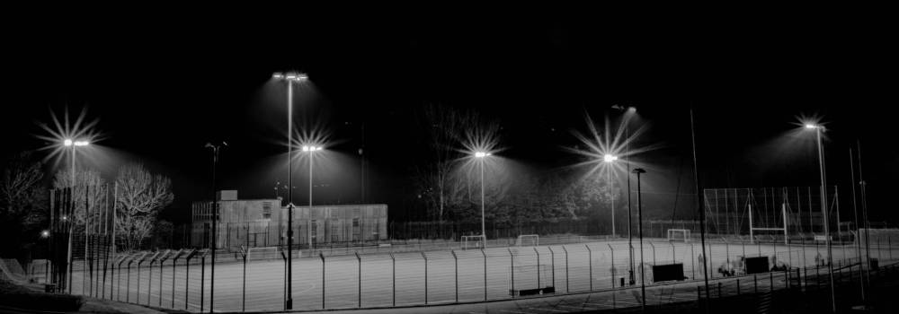 Night pitch - Ballycastle - Photo by Alex Leonard