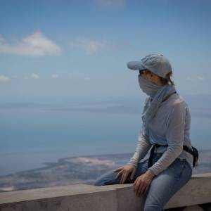 The view from Bokor - A photo by Alex Leonard