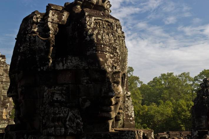 Bayon Temple, Angkor - Photo by Alex Leonard