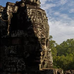 Bayon Temple, Angkor - Photo by Alex Leonard