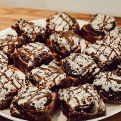 Cookies 'n' Creme Brownies
