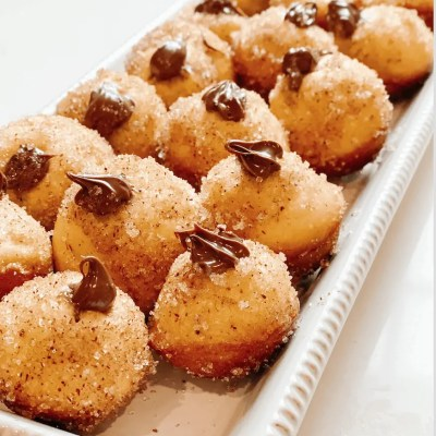 Nutella Donut Hole Recipe