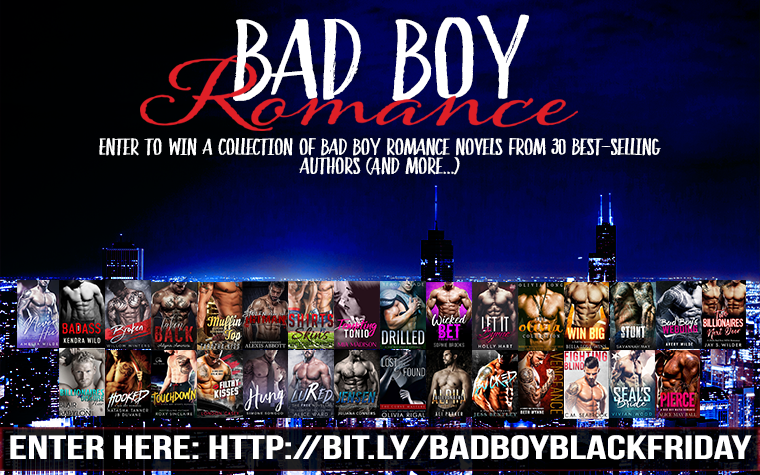 Black Friday Bad Boy Romance Giveaway