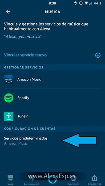 Cómo configurar y utilizar Spotify, Deezer o Apple Music en Alexa (Amazon Echo) paso