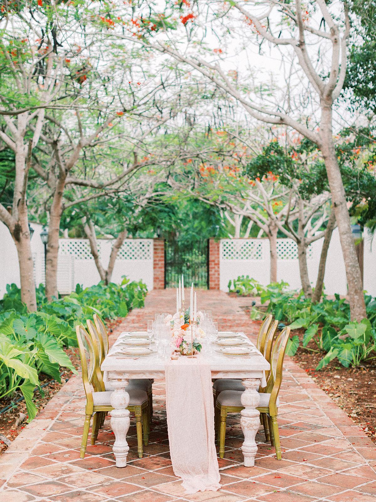 Outdoor beach wedding reception: Beach Wedding Inspiration | Dominican Republic