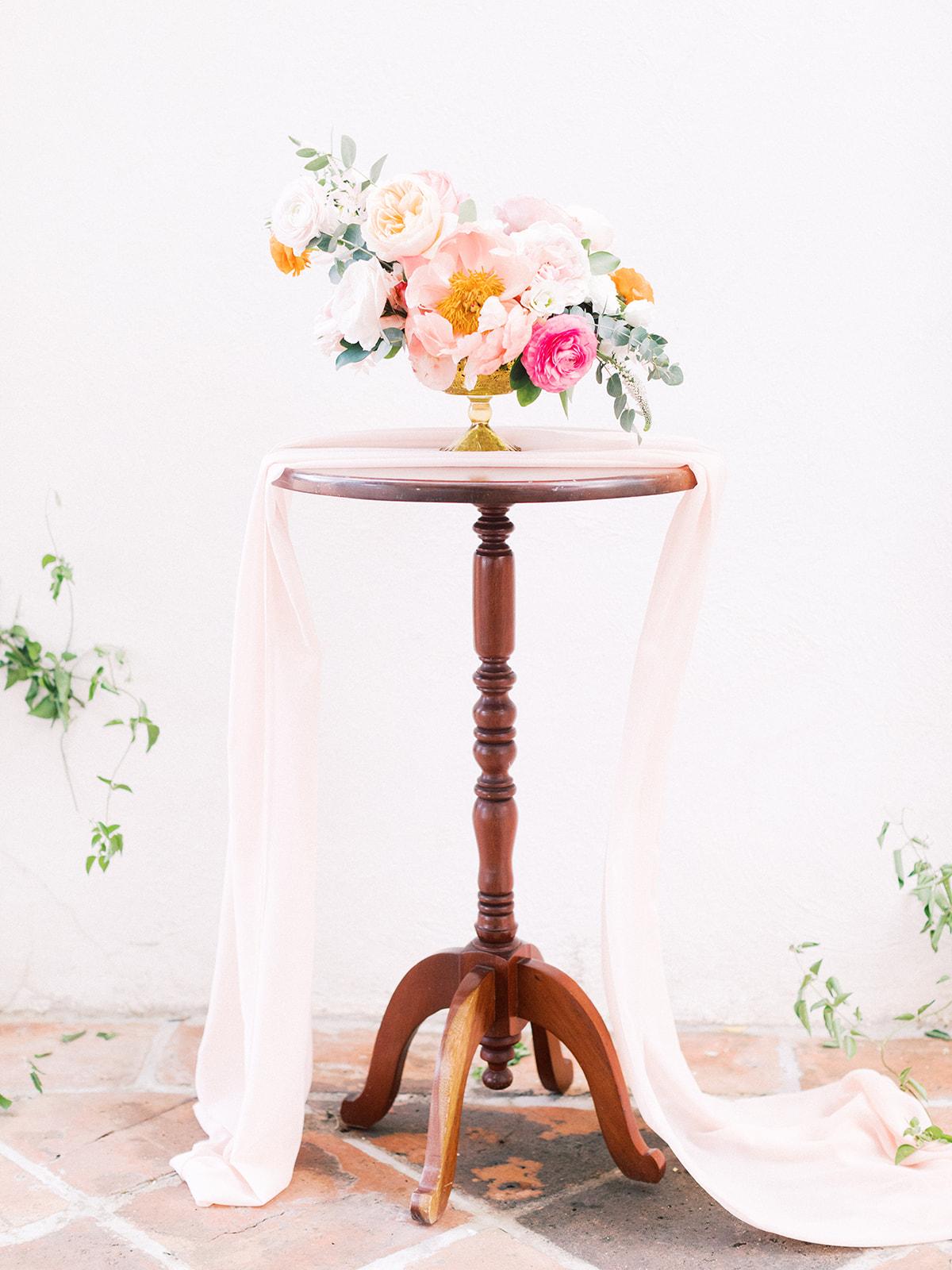 Floral wedding decor: Beach Wedding Inspiration | Dominican Republic