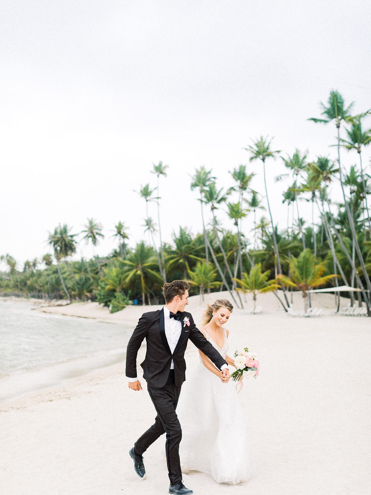 Beach wedding photos: Beach Wedding Inspiration | Dominican Republic