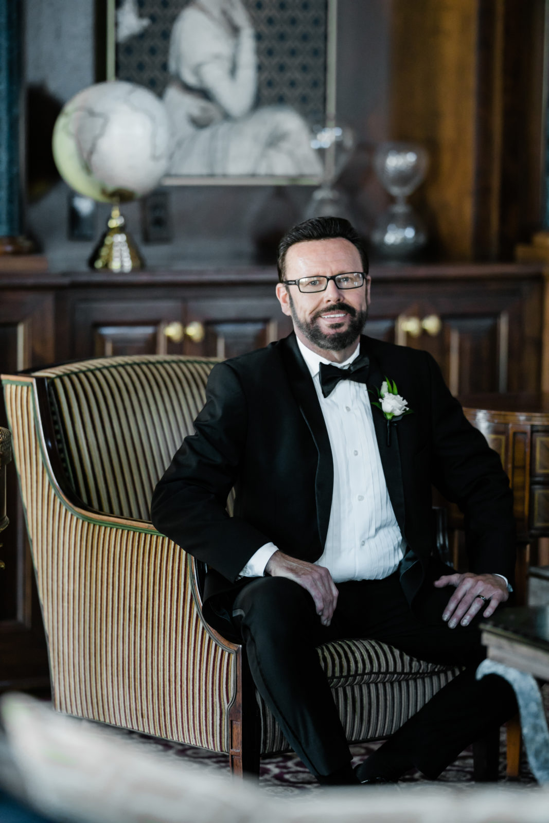 Grooms attire: Sophisticated and Chic wedding inspiration on Alexa Kay Events