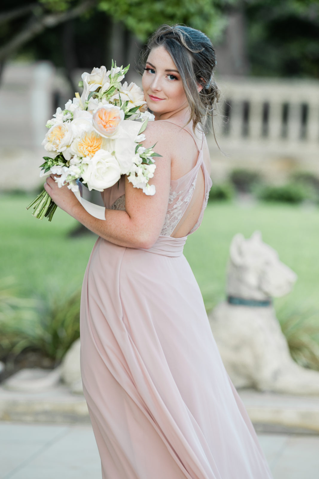 Taupe Bridesmaid Dress: Sophisticated and Chic wedding inspiration on Alexa Kay Events