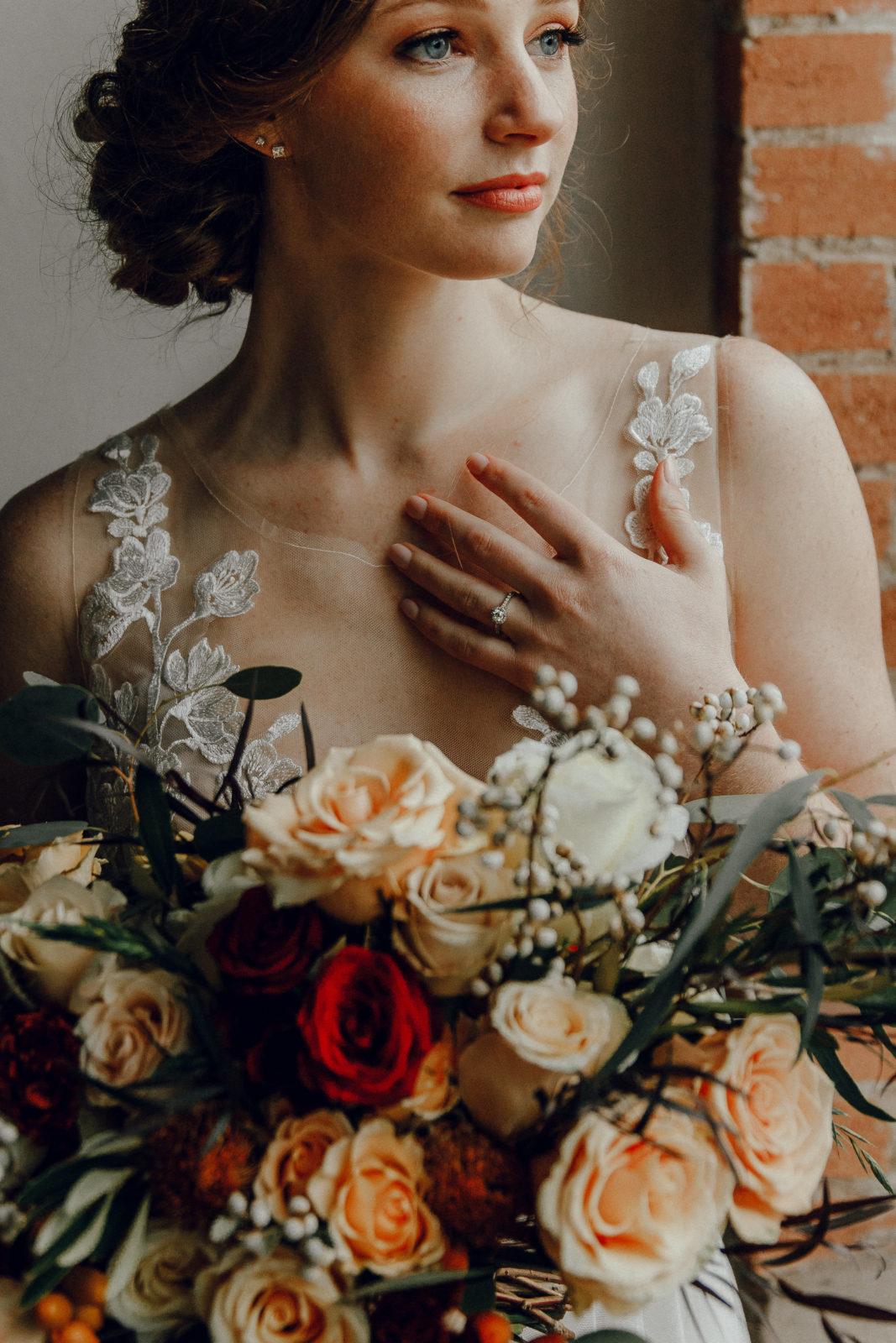 Orange wedding flowers: Orange Wedding Inspiration on Alexa Kay Events