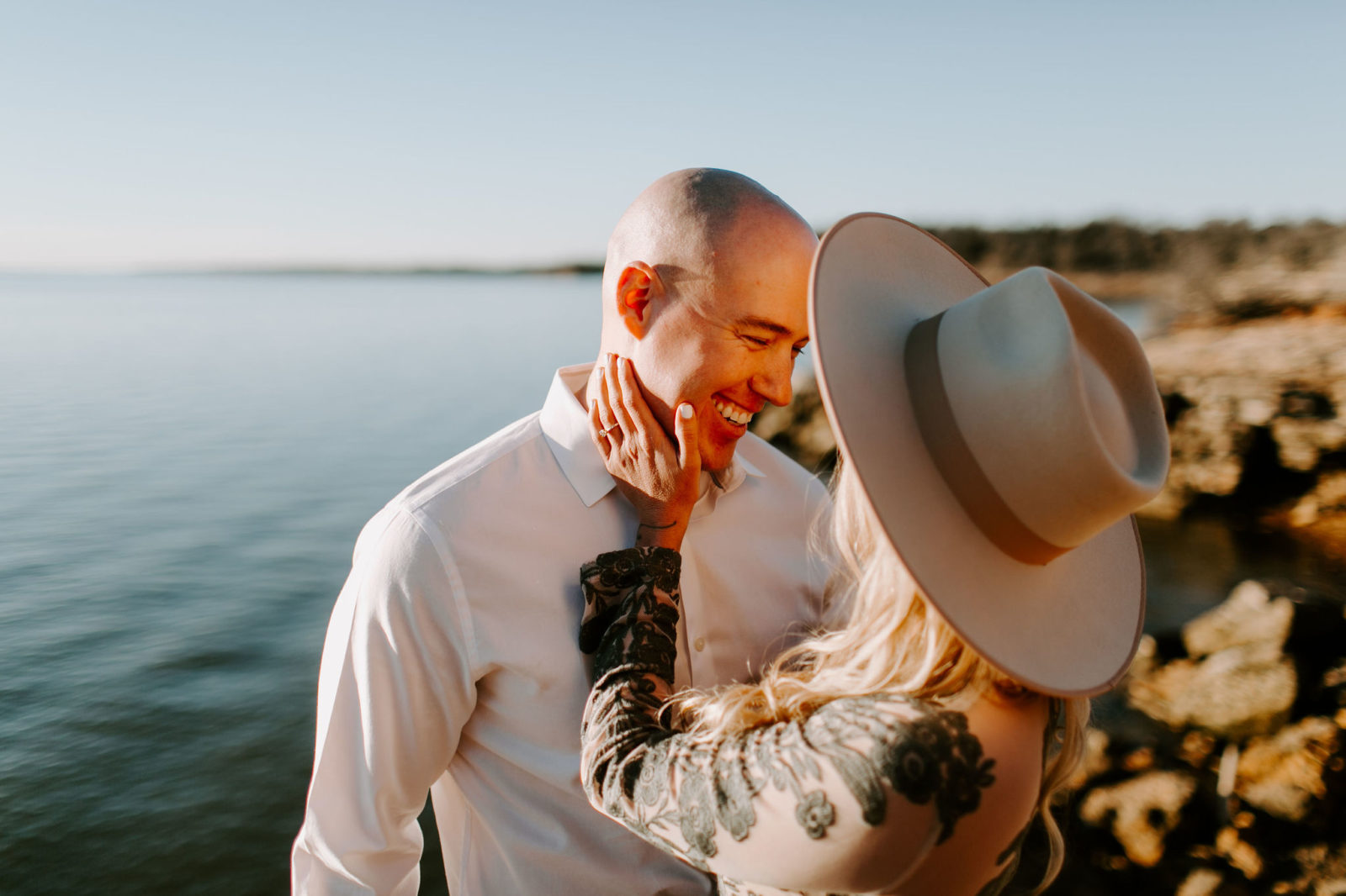 Grapevine Lake Engagement Session | Alexa Kay Events