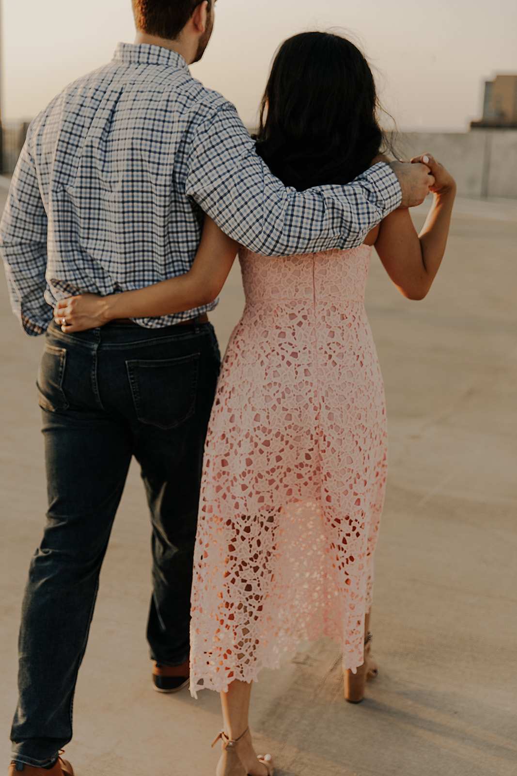 Downtown Dallas Engagement Session | Alexa Kay Events