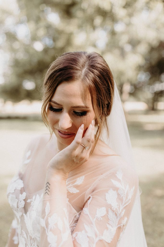 Wedding makeup: Intimate and Charming Wedding featured on Alexa Kay Events blog