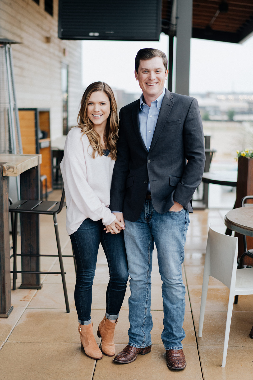 dreamy downtown fort worth engagement session