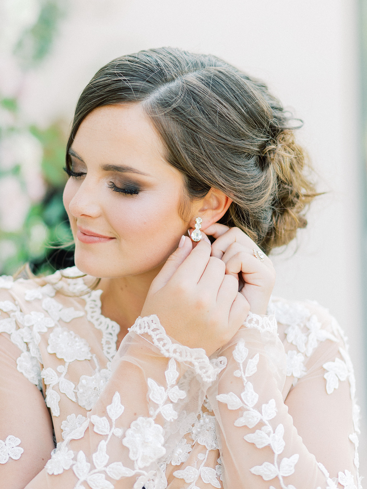Wedding hair and makeup: Whimsical garden elegance styled shoot featured on Alexa Kay Events