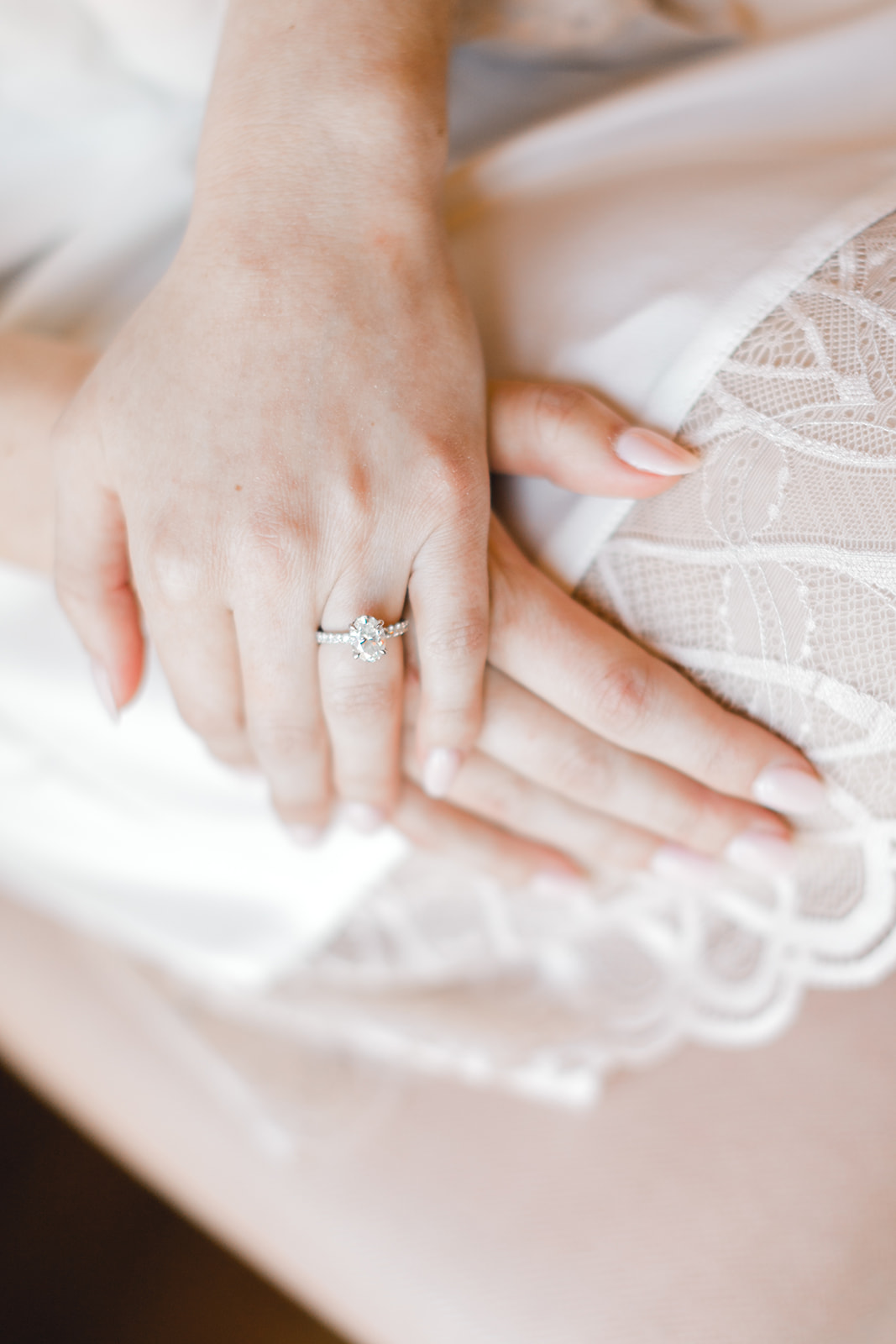 Engagement ring: Timeless Wedding at The Olana featured on Alexa Kay Events!