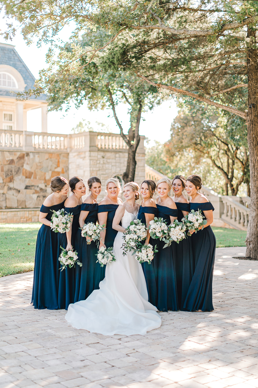 Bridesmaid dress design: Timeless Wedding at The Olana featured on Alexa Kay Events!