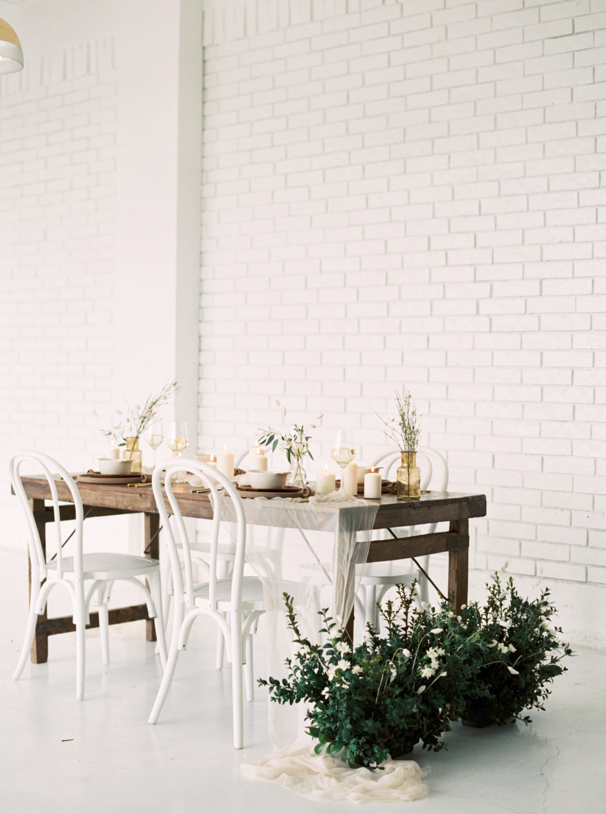 Wedding reception decor inspiration for styled shoot featured on Alexa Kay Events
