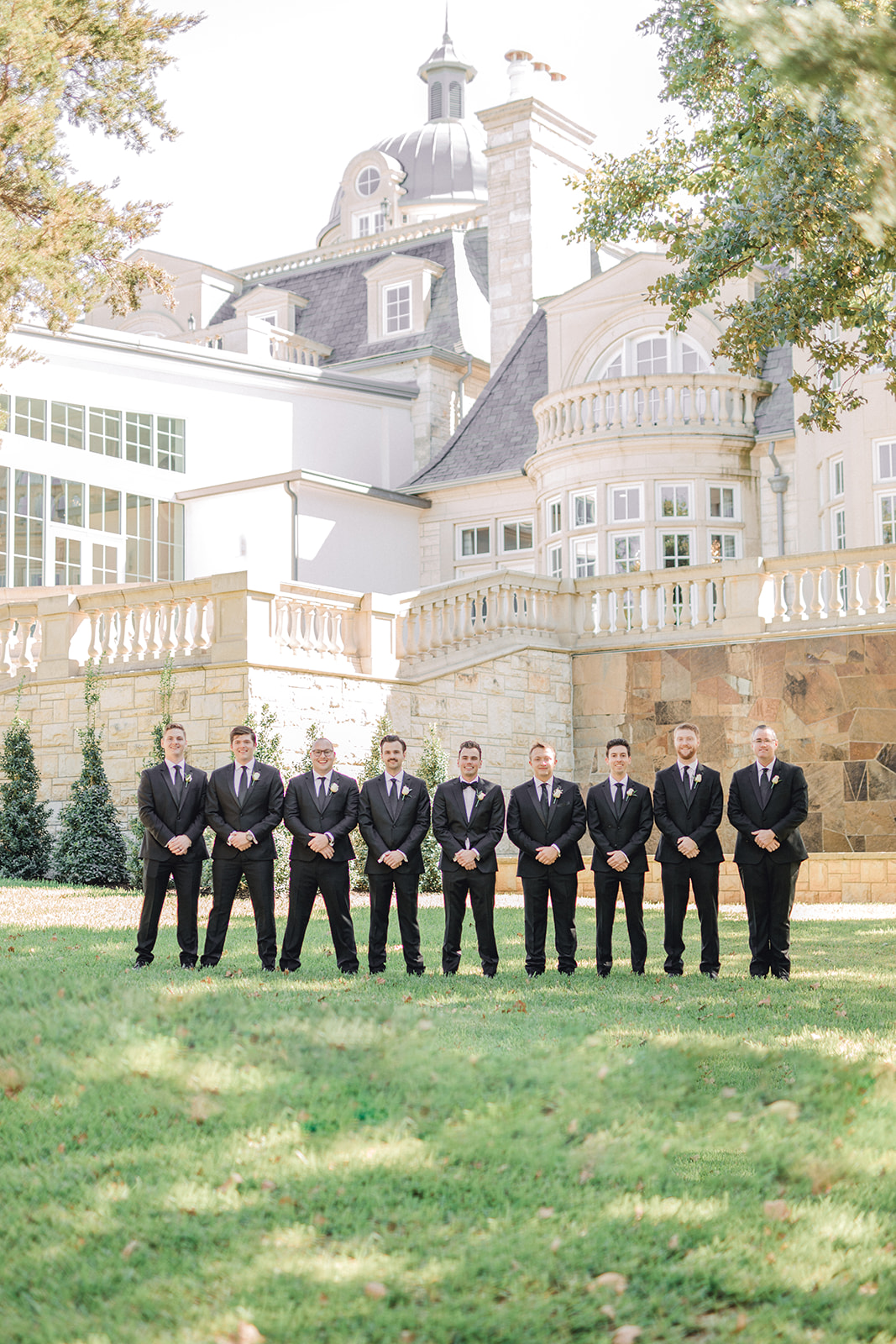Wedding party photos: Timeless Wedding at The Olana featured on Alexa Kay Events!
