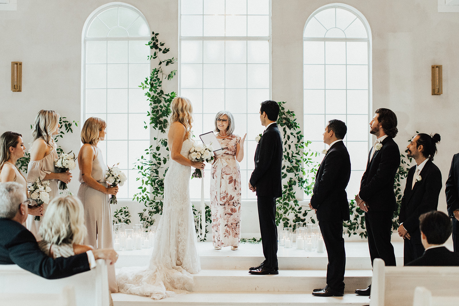 Wedding Ceremony Captured by DFW Photographer Lauren Nicole