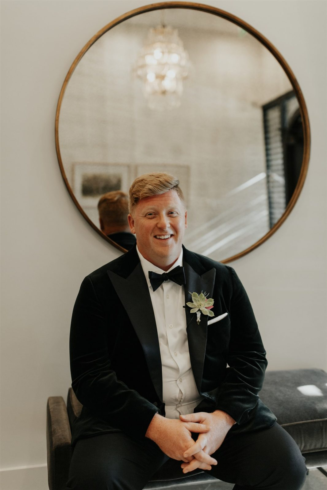 Grooms Portrait by DFW Photographer Madeline Shea