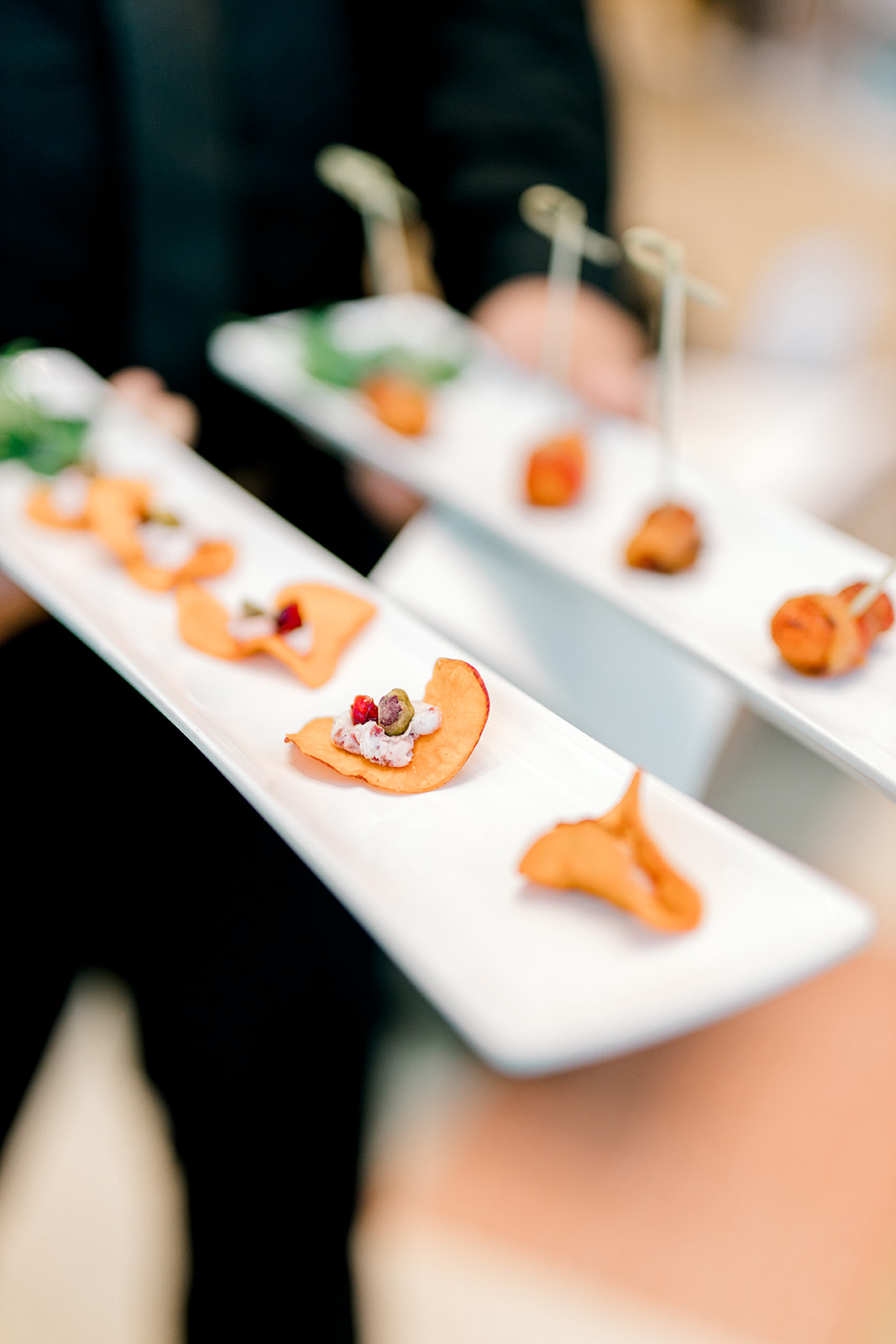 Spring wedding appetizers: Crate and Barrel Collaboration with Alexa Kay Events