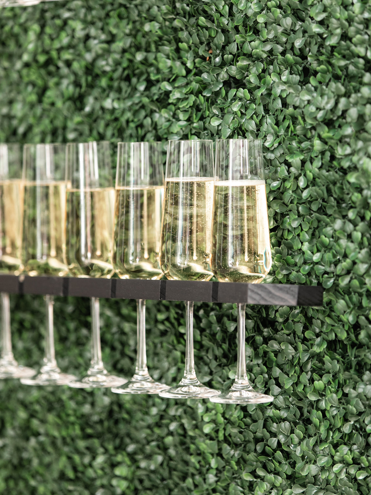 Wedding Champagne Display: Luxurious Knotting Hill Place Wedding