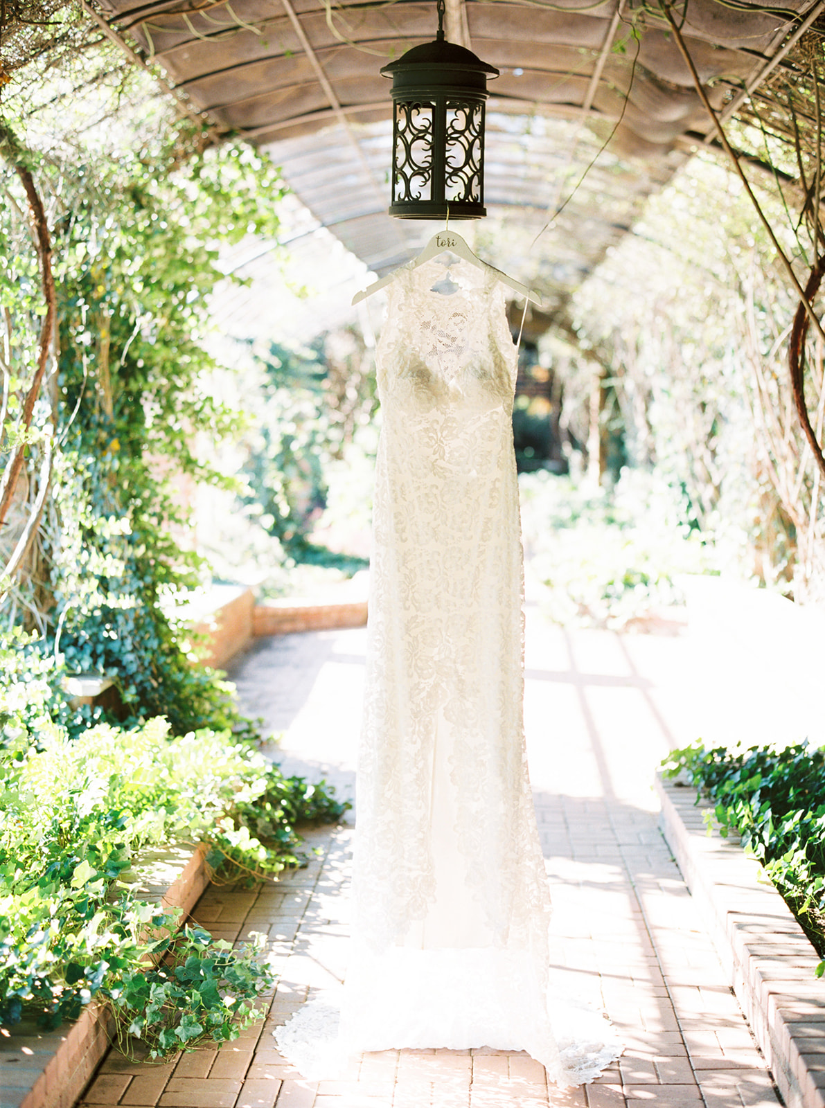 Feminine and Whimsical Clark Gardens Wedding