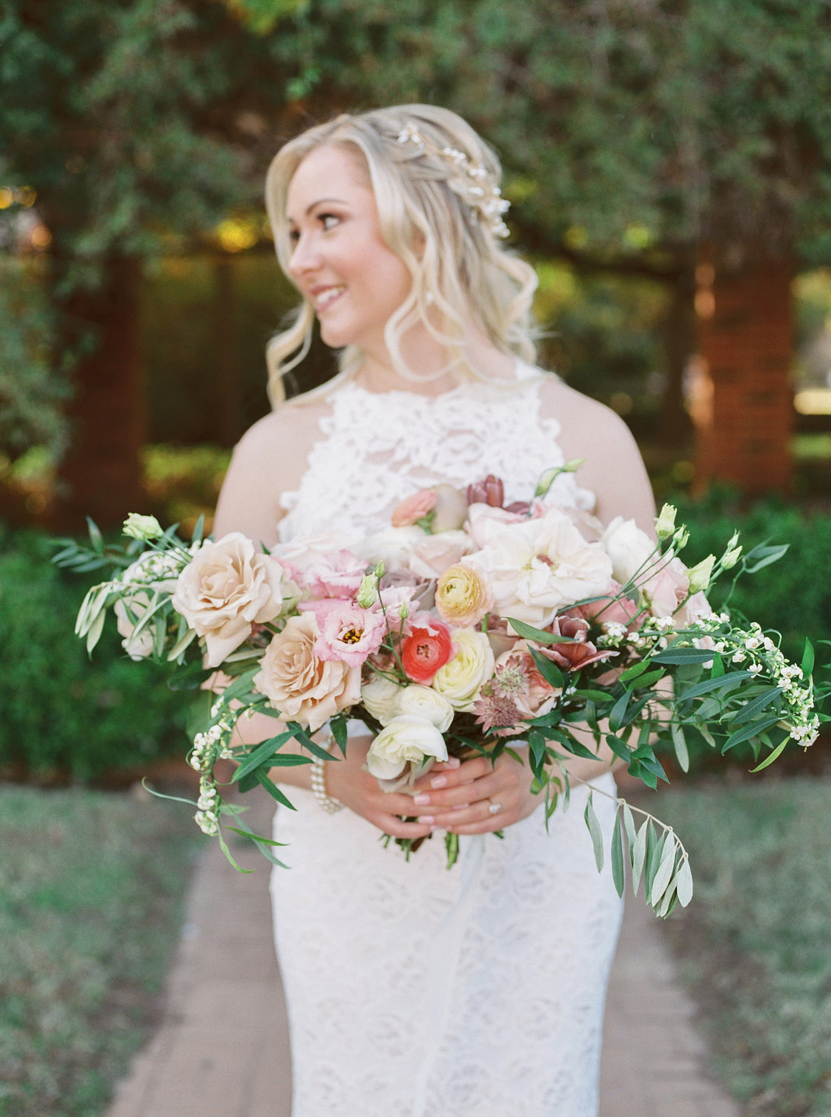 Alba Dahlia Floral Wedding Bouquet